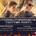 RSVP For The Terminator Genisys Twitter Party! 6/30 At 9PM ET!