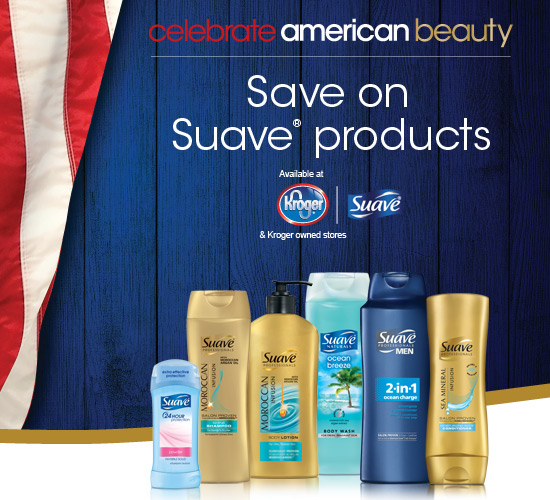 Kroger Suave American Beauty offer
