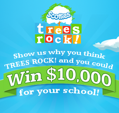 Scotties Trees Rock Video Contest