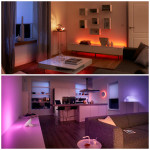 Set The Mood With Philips Hue Lights At @BestBuy! @Tweethue @Netgear #BBYConnectedHome #ad