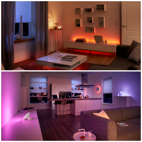 Philips Hue Rooms