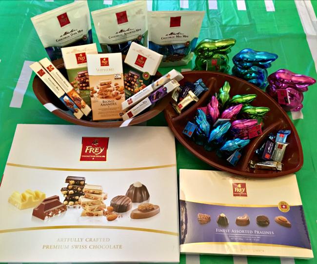 Chocolat Frey Gift Basket