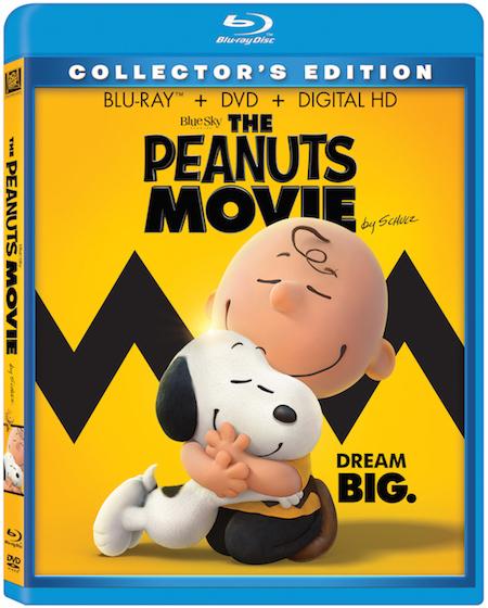 Peanuts BD spine