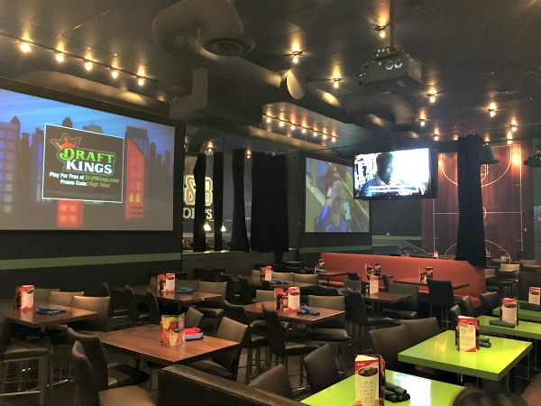 Dave & Busters Dining Area 1