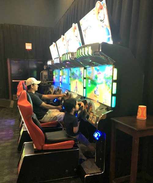 Dave & Busters Mario Game