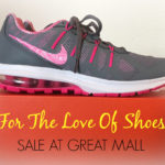 Shoe Lovers Unite! Shoe Sale Now At Great Mall! #LoveOfShoes